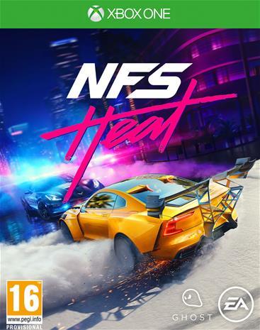 Need For Speed - Heat, Xbox One -peli