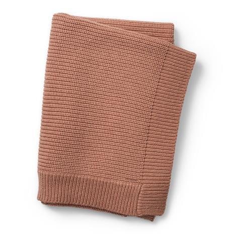 Elodie Details - Wool Knitted Blanket - Faded Rose