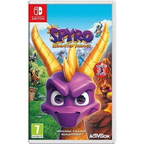 Spyro Reignited Trilogy, Nintendo Switch -peli