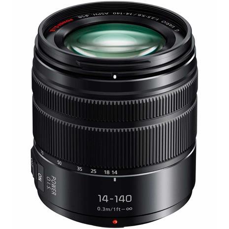 Panasonic Lumix G Vario 14-140mm f/3.5-5.6 II ASPH. Power O.I.S (H-FSA14140E), objektiivi