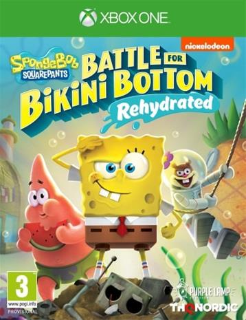 SpongeBob SquarePants: Battle for Bikini Bottom Rehydrated, Xbox One -peli