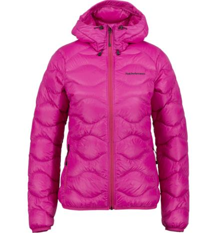 Peak Performance W HELIUM HOOD JKT POWER PINK