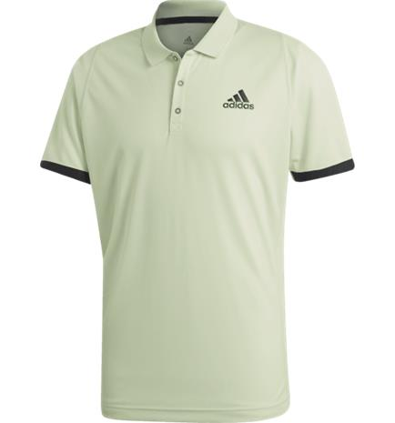 Adidas NY POLO M GLOW GREEN/CARBON