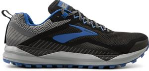Brooks M CASCADIA 14 GTX BLACK/GREY/BLUE