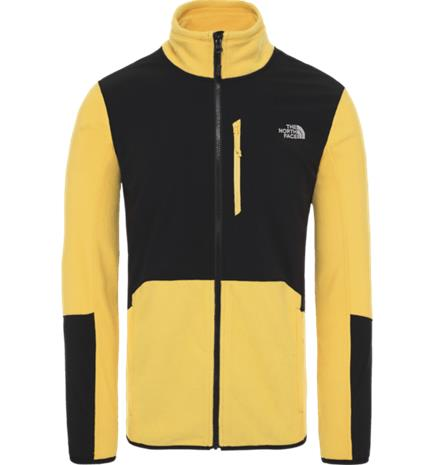 The North Face M GLACIER PRO FZ YELLOW/BLACK