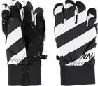 Warp J SHRED GLOVE BLACK WHITE STRIPE