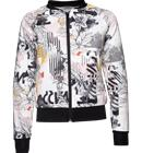 Warp J GRAPHIC JKT FLOWER PRINT