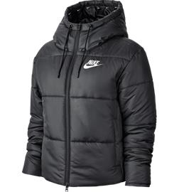 Nike W SYN FILL JKT HD BLACK/WHITE