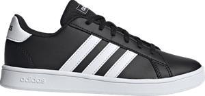 Adidas J GRAND COURT K CORE BLACK