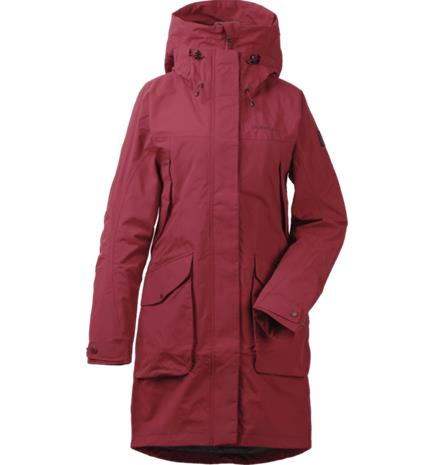 Didriksons W THELMA PARKA ELEMENT RED
