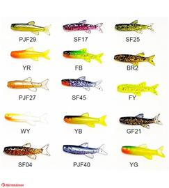 Orka Small Fish 3 cm 6 kpl jigi