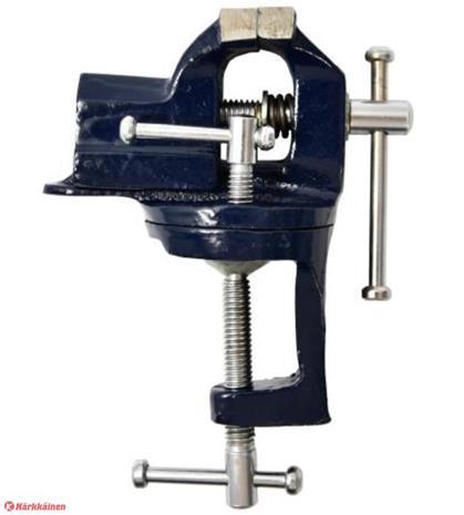 Finbullet 50mm pyörivä pöytäruuvipenkki