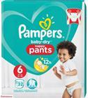 Pampers Baby-Dry Pants koko 6 15+ kg 32 kpl housuvaippa
