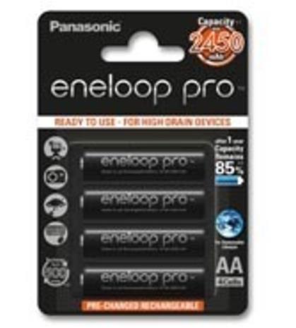 Panasonic BK-3HCDE Eneloop Pro 4 kpl 2500mAh akkuparisto