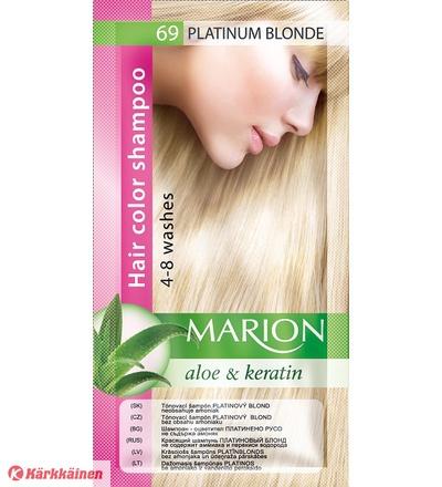 Marion Aloe&Keratin Platinum Blonde sävyshampoo