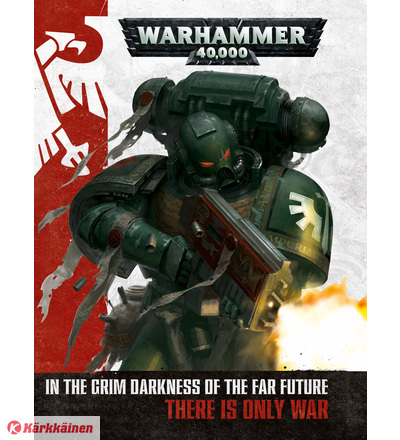Warhammer: 40K Rulebook 8th Edition (Ilmainen toimitus) WH40