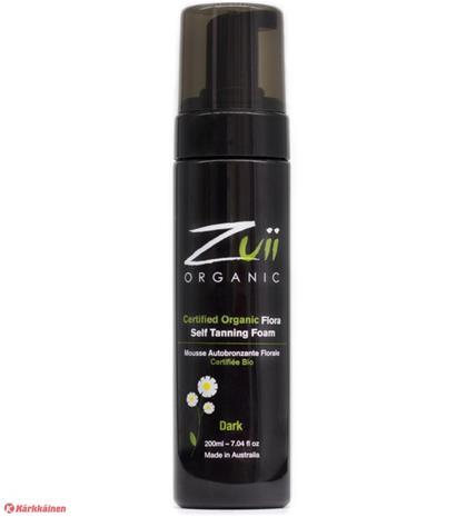 Zuii Organic Self Tanning Foam Dark 200 ml tseruskettava vaahto