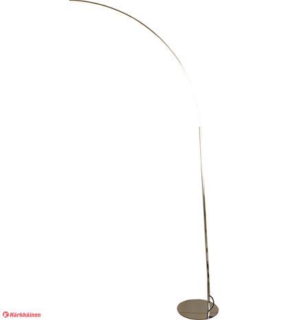 Aneta Slim LED lattiakaarivalaisin kromi
