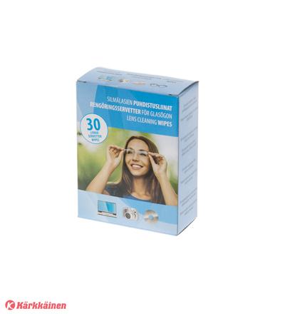 Lens Cleaning wipes 30 kpl silmälasien puhdistusliina