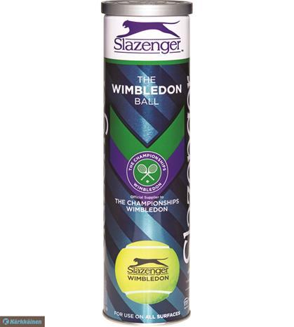 Slazenger Wimbledon 4 kpl tennispallo 2019