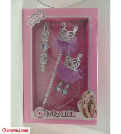 Girlz Club Princess asustelahjapakkaus