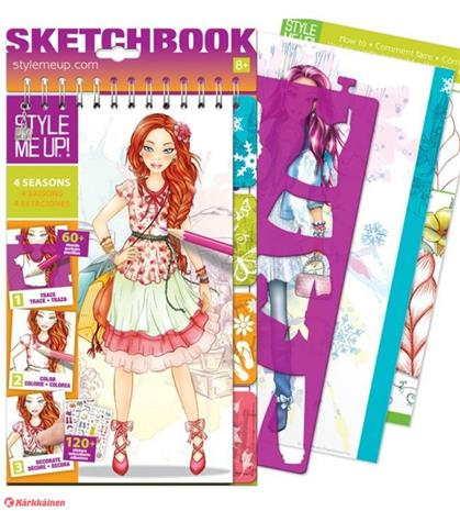 Style me up! Vuodenajat suunnittelukirja