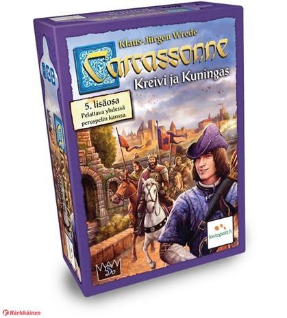 Carcassonne Kreivi ja Kuningas (5. lisäosa) (Lautapeli)