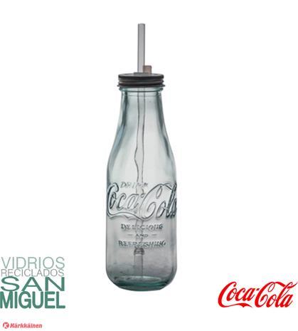 San Miguel Coca-Cola 550ml juomapullo pillillä