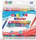 Carioca 2-värinen kolmiopuuvärikynä