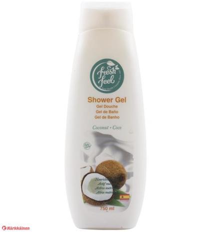 Fresh Feel Coconut 750 ml suihkusaippua