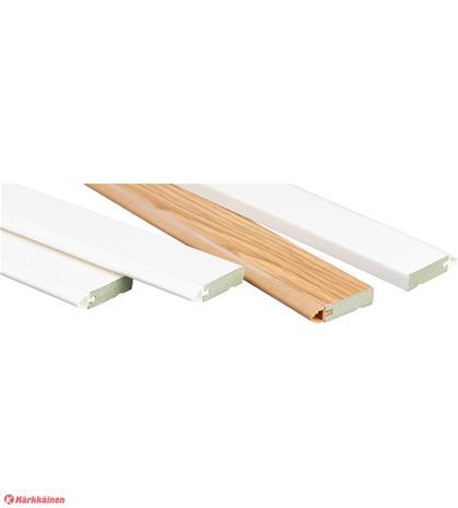 Maler Kantti 10x35x2070 valkoinen tiivistyslistapaketti ulko-oville