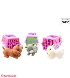 Toi-Toys eläin + kantokoppa