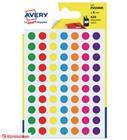 Avery 420kpl 8mm pyöreä tarra