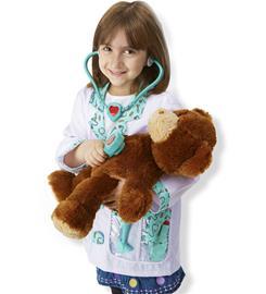 Melissa & Doug 4839 Lääkäri lasten rooliasu