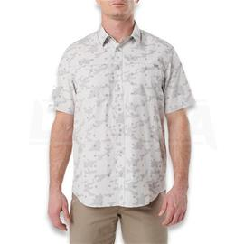 5.11 Tactical Crestline Camo S/S Shirt XL, pebble
