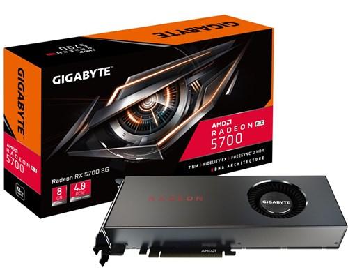 Gigabyte Radeon RX 5700 8 GB, PCI-E, näytönohjain
