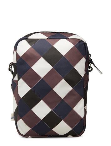 BAUM UND PFERDGARTEN Kacia Bags Small Shoulder Bags/crossbody Bags Monivärinen/Kuvioitu BAUM UND PFERDGARTEN NAVYBROWN CHECK