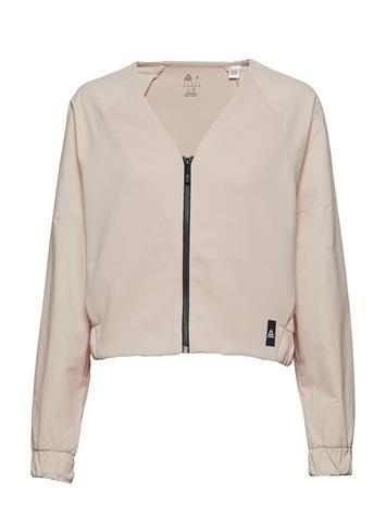 REEBOK Ts Fashion Coverup Svetari Collegepaita Vaaleanpunainen REEBOK BUFF