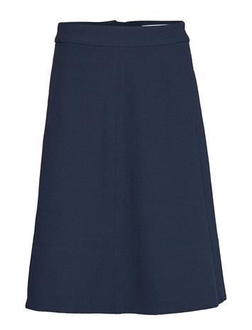 CATHRINE HAMMEL Flare Skirt Polvipituinen Hame Sininen CATHRINE HAMMEL INK BLUE