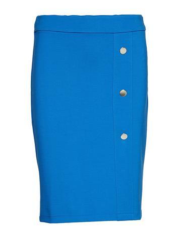 TAIFUN Skirt Knitwear Polvipituinen Hame Sininen TAIFUN COBALT BLUE