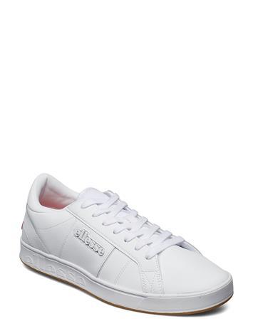 ELLESSE El Ls-80 Lthr Am Wht/Wht Matalavartiset Sneakerit Tennarit Valkoinen ELLESSE WHT/WHT
