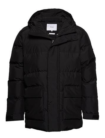 Makia Berg Jacket Vuorillinen Takki Topattu Takki Musta Makia BLACK