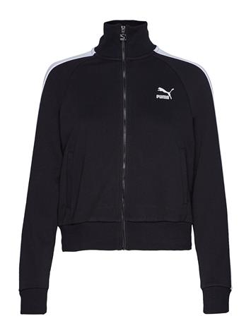 PUMA Classics T7 Track Jkt, Ft Sweat-shirts & Hoodies Zip Throughs Sininen PUMA MILKY BLUE