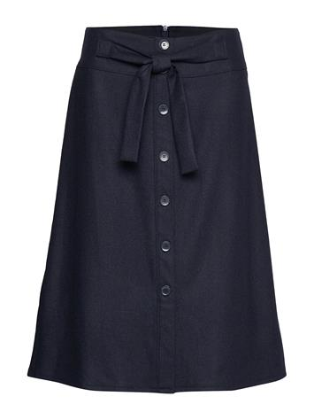 GERRY WEBER EDITION Skirt Short Woven Fa Polvipituinen Hame Sininen GERRY WEBER EDITION PIGEON BLUE