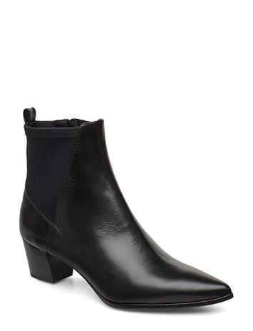 UNISA Jules_na_scu Shoes Boots Ankle Boots Ankle Boots With Heel Musta UNISA BLACK