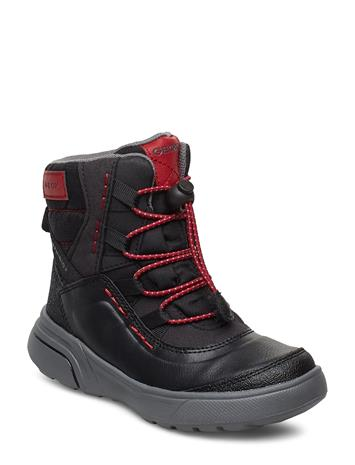 GEOX J Sveggen Boy B Abx Boys Winter Boots Winter Boots W. Laces Sininen GEOX NAVY/YELLO