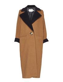 INWEAR Iw50 24 Gwynethiw Long Coat Outerwear Coats Wool Coats Ruskea INWEAR CARAMEL