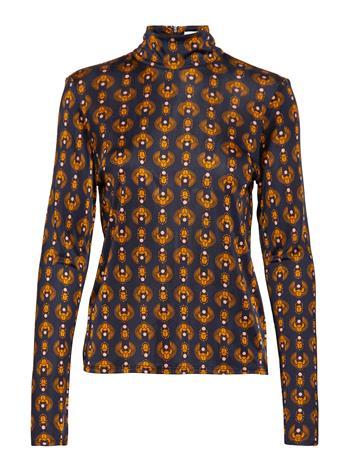 RODEBJER Rodebjer Gellert T-shirts & Tops Long-sleeved Sininen RODEBJER DARK NAVY