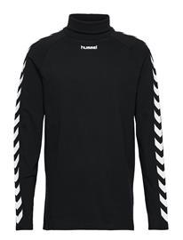 HUMMEL HIVE Hmlcornelius T-Shirt L/S T-shirts Long-sleeved Musta HUMMEL HIVE BLACK
