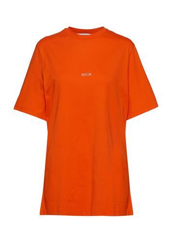 MSGM T-Shirt T-shirts & Tops Short-sleeved Oranssi MSGM ORANGE